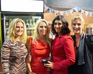 Linda, Sandra, Yasmina and Marina